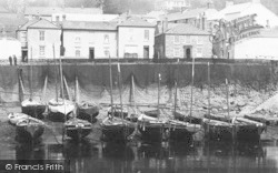 Mousehole, Fishing Boats 1893