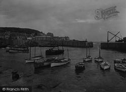 Mousehole, Harbour 1931