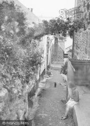 Mousehole, Mount Pleasant, A Girl 1931