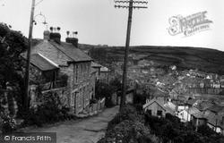 Raginnis Hill c.1955, Mousehole