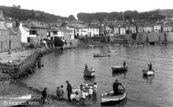 Mousehole, The Harbour 1927