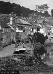 Mousehole, The Wharf 1935