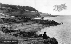 Lough Foyle, Beach And Playground c.1955, Moville