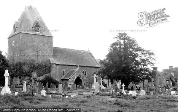 Photo of Much Dewchurch, Church Of St David c.1955