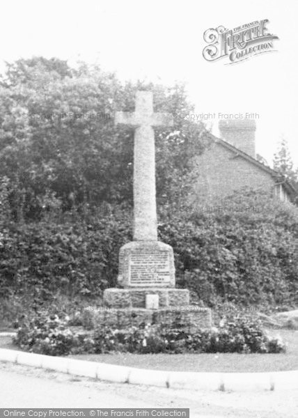 Photo of Much Dewchurch, The Memorial c.1960