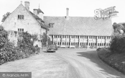 Abbey, The Prior's Lodging House c.1960, Much Wenlock
