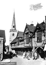 Guildhall c.1925, Much Wenlock