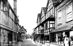 High Street 1911, Much Wenlock