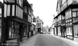 High Street c.1965, Much Wenlock