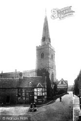 Holy Trinity Church 1904, Much Wenlock