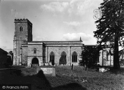 Holy Trinity Church c.1955, Much Wenlock