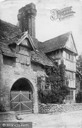 Old House c.1880, Much Wenlock