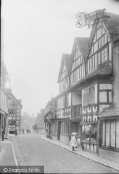 Old House In High Street 1904, Much Wenlock