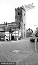 The Bull Ring c.1960, Much Wenlock