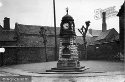 The Clock Tower c.1935, Much Wenlock