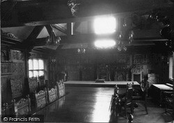 The Guildhall Council Chamber c.1960, Much Wenlock