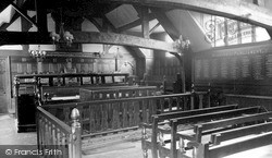 The Guildhall Court Room c.1955, Much Wenlock