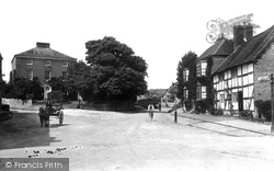 Vicarage And Victoria Road 1911, Much Wenlock