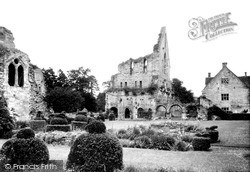 Wenlock Priory c.1955, Much Wenlock