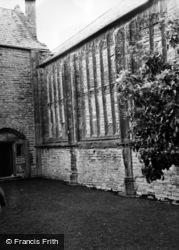 Abbey c.1950, Muchelney