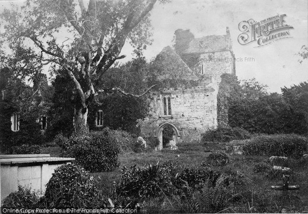 Photo of Muckross, Abbey c.1880