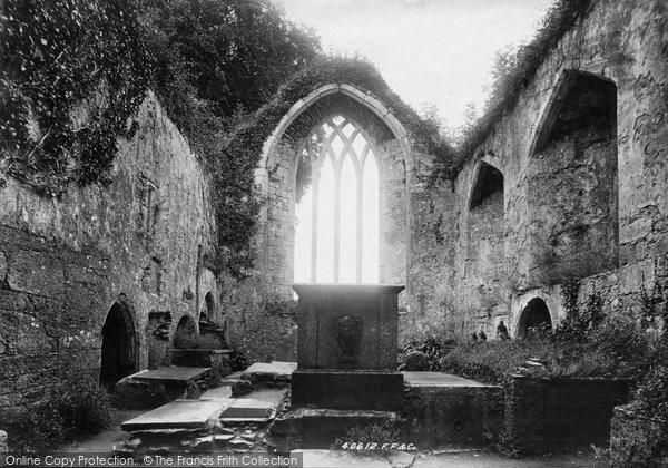 Photo of Muckross, Abbey, Chancel East 1897