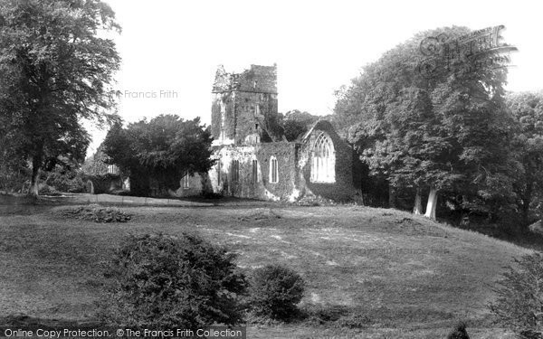 Photo of Muckross, Abbey From Park 1897