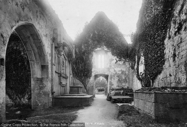 Photo of Muckross, Abbey, Nave West 1897