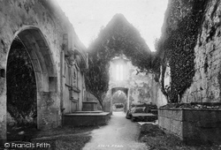 Muckross, Abbey, Nave West 1897