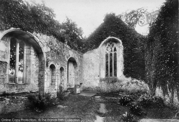 Photo of Muckross, Abbey, South Transept 1897