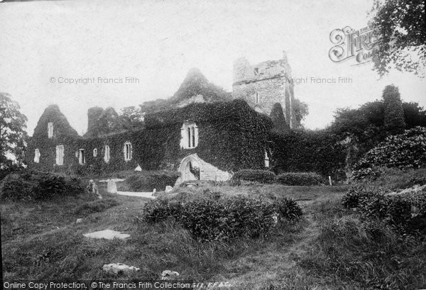 Photo of Muckross, Abbey, West Front 1897