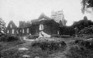Muckross, Abbey, West Front 1897