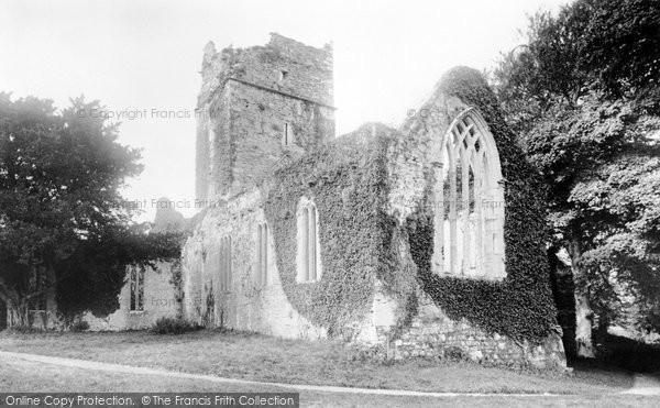 Photo of Muckross, The Abbey 1897