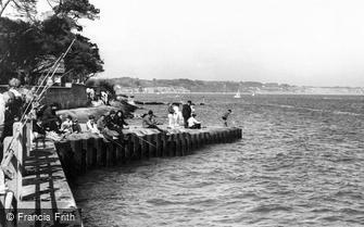Mudeford, Fishing c1960