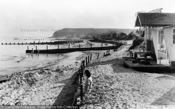 Mudeford, the Beach c1965