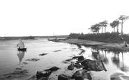 Mudeford, the Estuary 1918