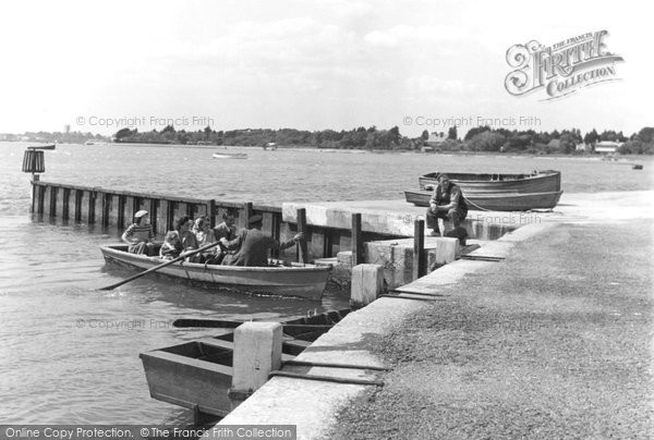Mudeford, the Ferry c1955