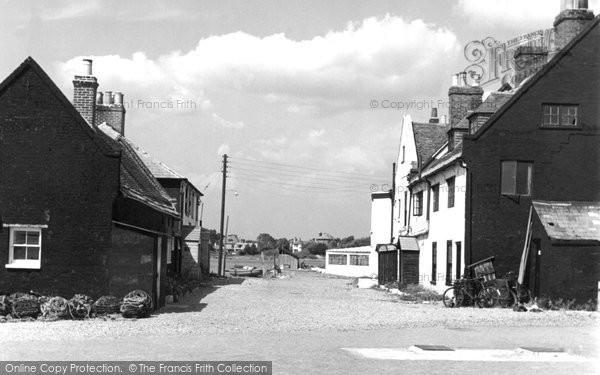 Mudeford, the Haven Quay c1955