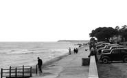Mudeford, the Promenade c1955