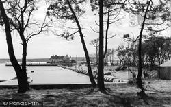 View Through The Pines c.1955, Mudeford