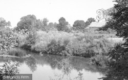 By The Weir c.1960, Mudford