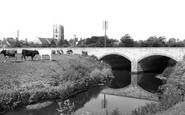 Mudford, the Bridge and Church c1960