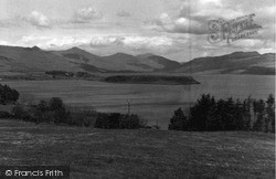 Mull, Kilfinichen Point And Loch Scridain 1959