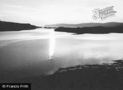 Mull, Sunset Near Ulva Ferry 1959