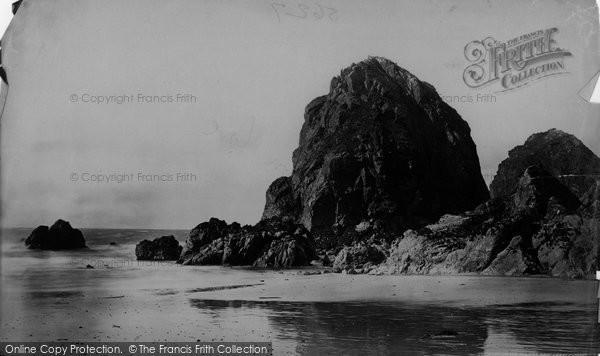 Photo of Mullion, Bird Rock c.1861
