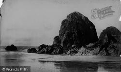 Mullion, Bird Rock c.1861