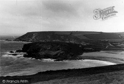 Mullion, Church Cove From Poldhu c.1955