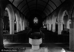 Mullion, Church Interior 1899