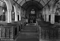Mullion, Church Interior 1911