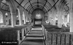 Mullion, Church Interior 1922